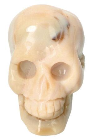 Gele Agaat Geode schedel