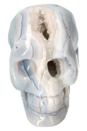 Agaat Geode Kristallen schedel