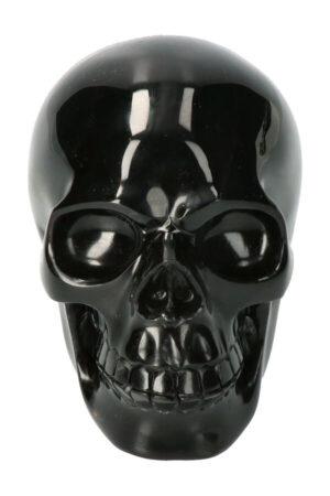 Obsidiaan edelsteen schedel