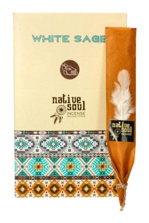 Native Soul wierook White Sage (Witte Salie)