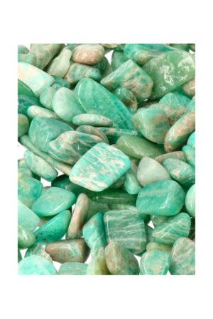 Amazoniet chips stenen