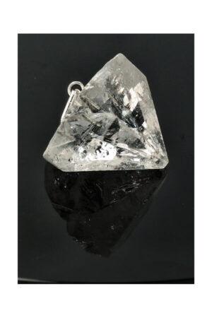Apofyliet natuurlijke punt hanger, 1.5 a 2.5 cm, India