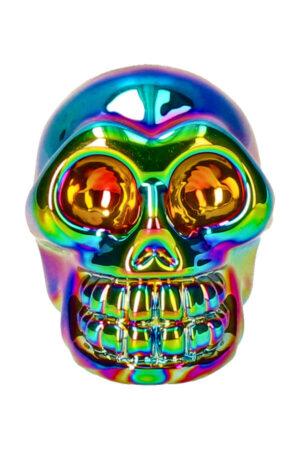 Titanium Aura kristallen schedel 5 cm