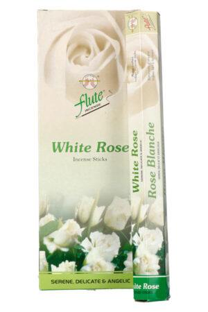 Flute White Rose Wierook