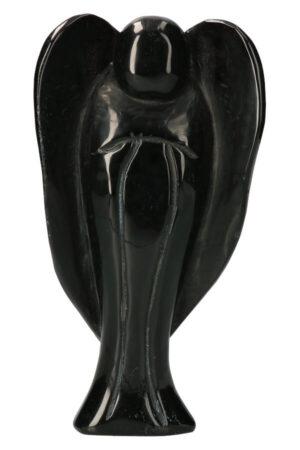 Obsidiaan engel groot, 22 cm, 1.09 kg
