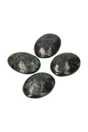 Arfvedsoniet Palm stenen kristallen