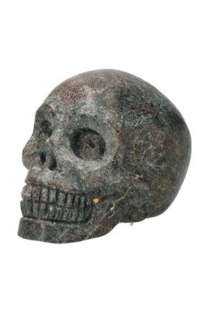 Arfvedsoniet kristallen schedel, 7 cm, 249 gram