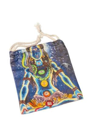 Stoffen zakje 'Shiva', 15 cm x 12 cm