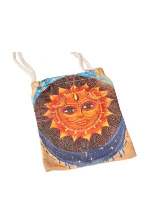 Stoffen zakje 'Sunshine', 15 cm x 12 cm