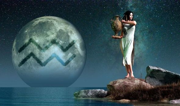 waterman in volle maan