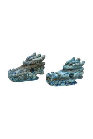 Lapis Lazuli kristallen drakenschedel 5 cm