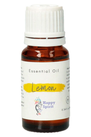 Citroen essentiële olie, 10 ml, Organic