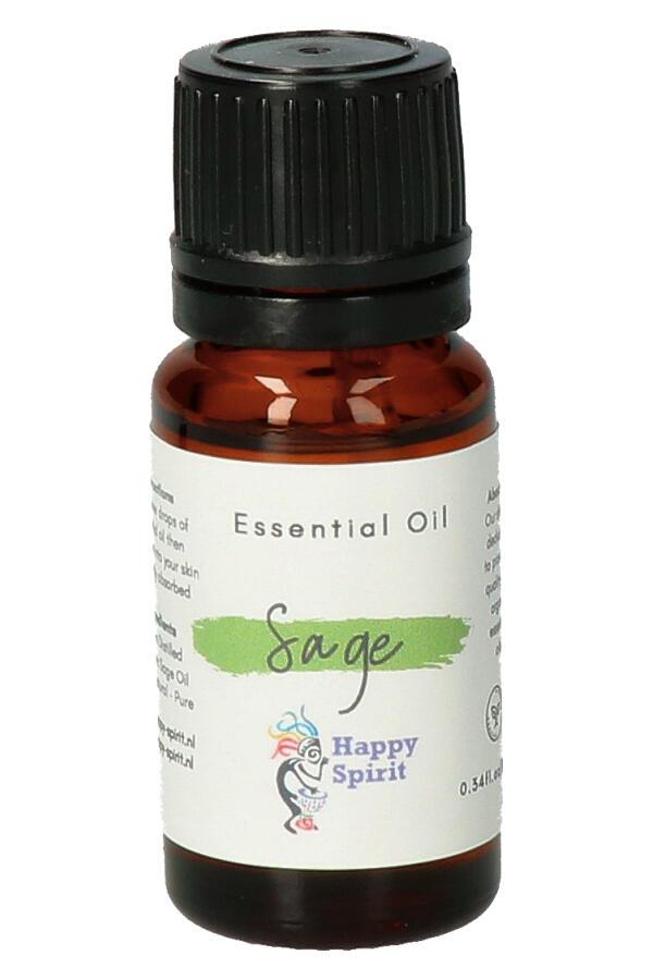 Salie essentiële olie, 10 ml, Organic - etherische olie