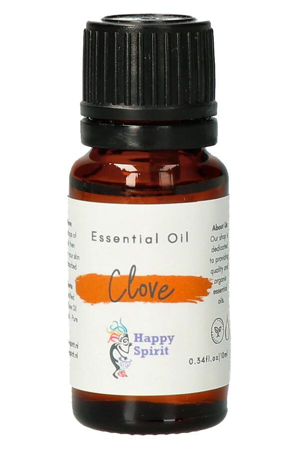 Kruidnagel essentiële olie, 10 ml, Organic - etherische olie