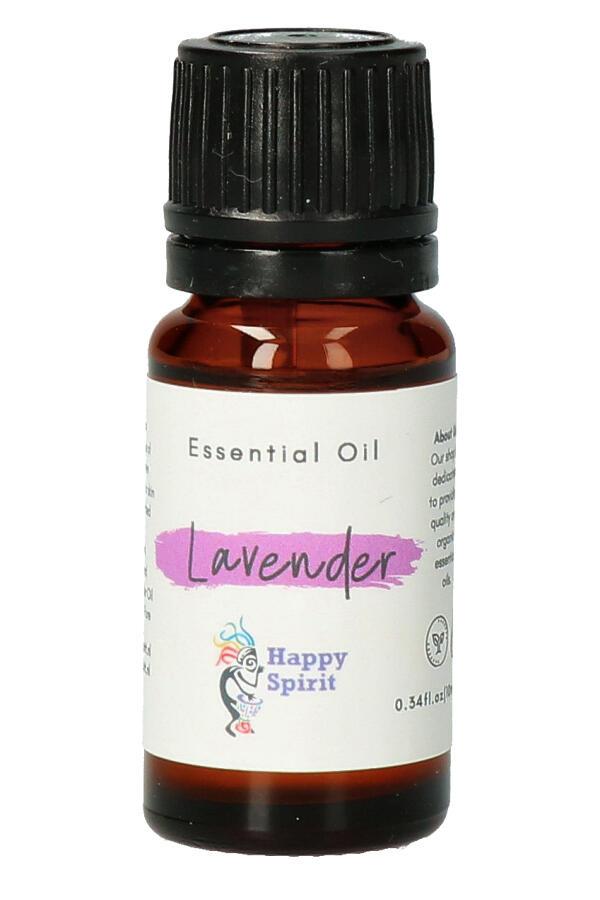 Lavendel essentiële olie, 10 ml, Organic - etherische olie