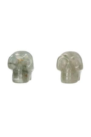Agaat kristallen schedel 4 cm