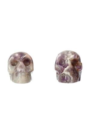 Amethist kristallen schedel 4 cm