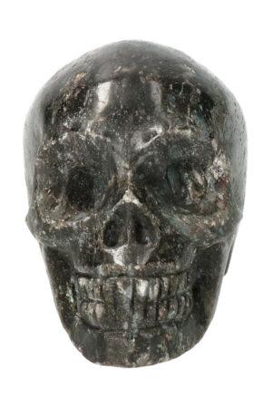 Arfvedsoniet kristallen schedel 7 cm 239 gram