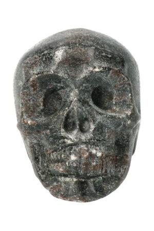 Arfvedsoniet kristallen schedel 7 cm 252 gram