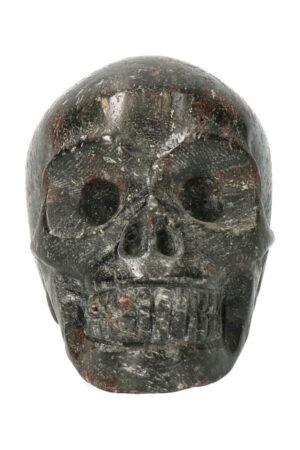 Arfvedsoniet kristallen schedel 7 cm 277 gram