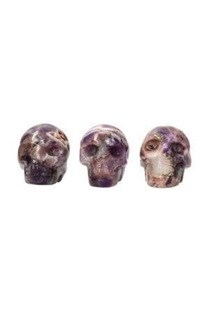 Amethist schedel 5 cm