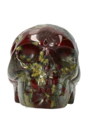Drakenbloedstenen schedel 5 cm