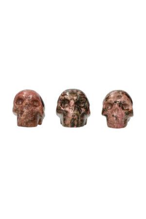 Rhodoniet schedel 5 cm