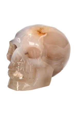 Kersenbloesem Agaat kristallen edelsteen schedel 12 cm 1 kg