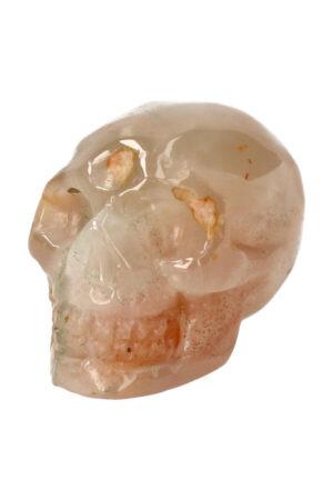 Kersenbloesem Agaat kristallen edelsteen schedel 6.6 cm 176 gram