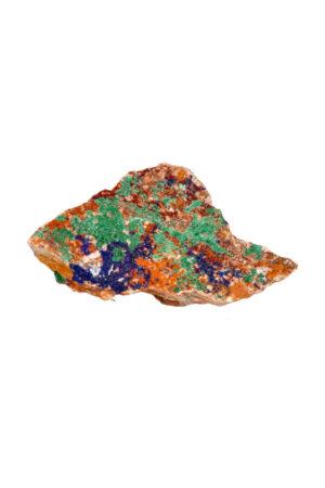 Azuriet met Malachiet ruw brok A kwaliteit! 11.5 cm 272 gram