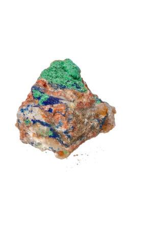 Azuriet met Malachiet ruw brok A kwaliteit! 9 cm 227 gram