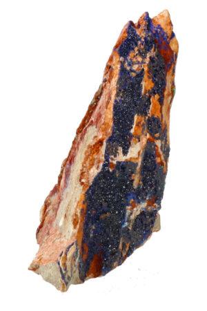 Azuriet met Malachiet ruw brok A kwaliteit! 9.6 cm 261 gram