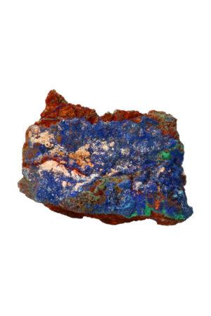 Azuriet met Malachiet ruw brok A kwaliteit! 9.8 cm 381 gram