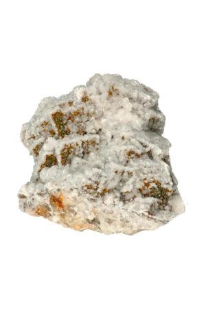 Bariet en Chalcopyriet op Fluoriet ruw brok 20 cm 2.6 kg
