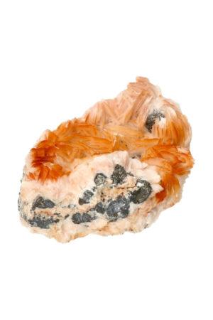 Cerussiet Bariet en Magnetiet op Dolomiet 8.7 cm 335 gram