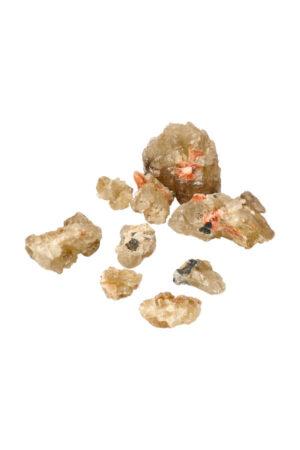Cerussiet kristallen mibladen marokko