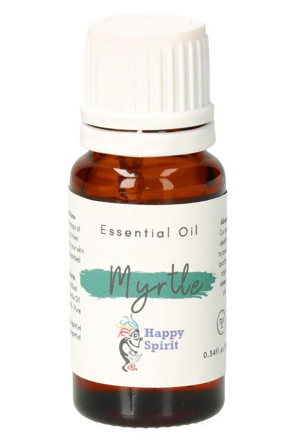 Mirtebes essentiële olie, 10 ml, Organic - etherische olie