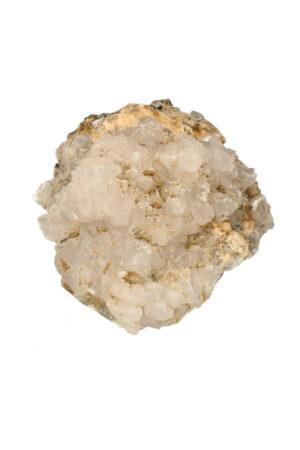 Fluoriet met bergkristal en Pyriet 10.6 cm 691 gram