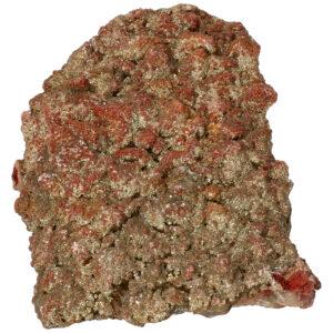 Pyriet op Fluoriet ruw 12.6 cm 509 gram