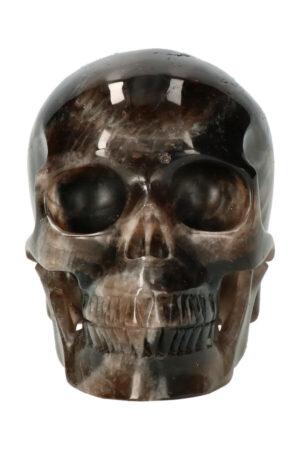 Rookkwarts exclusieve realistische kristallen schedel