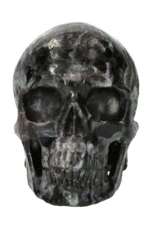 Merliniet exclusieve realistische kristallen schedel, 12.5 cm, 1.35 kg