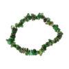 Smaragd splitarmband, 18 cm