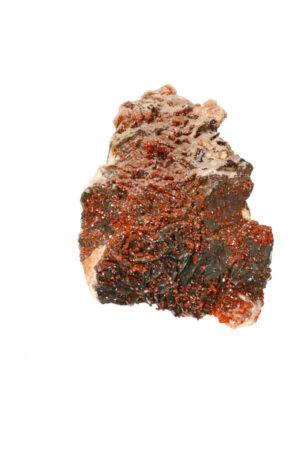 Vanadiniet, Hematiet, Bariet op Dolomiet, 14.7 cm, 1,3 kg