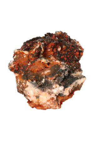 Vanadiniet Hematiet Bariet op Dolomiet 21 cm 2.3 kg