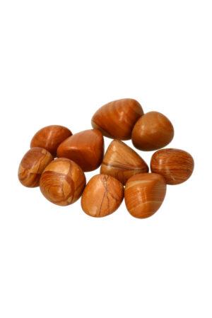 Versteend hout trommelstenen van 1 steen tot zakken van 100 gram tot 1 kilo