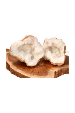 Marokkaanse Bergkristal geode 24.5 cm 7.8 kg