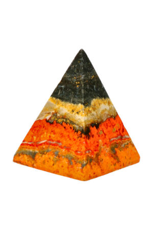 Bumblebee Jaspis piramide 6.4 cm 140 gram