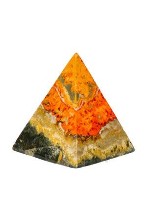 Bumblebee Jaspis piramide 5.8 cm 125 gram