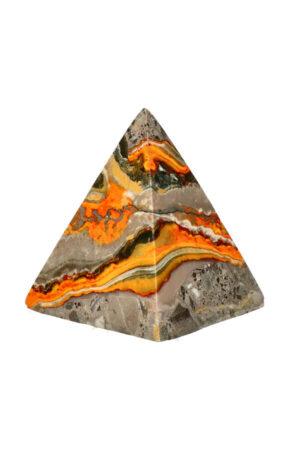 Bumblebee Jaspis piramide 5.7 cm 123 gram