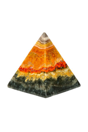 Bumblebee Jaspis piramide 5.9 cm 171 gram